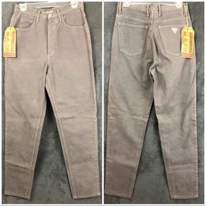 Guess Jeans - ⬇️45 Guess Gray High Waist Mom Jeans 30 Tapered